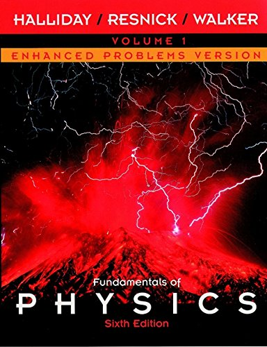 9780471228615: Fundamentals of Physics, Chapters 1 - 21, Enhanced Problems Version (Volume 1)