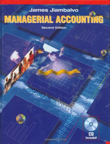 9780471228769: Managerial Accounting