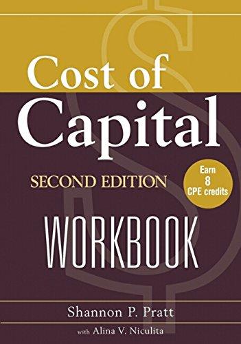 9780471228967: Cost of Capital Workbook