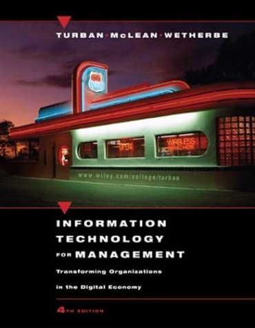 9780471229674: Information Technology for Management: Transforming Organizations in the Digital Economy