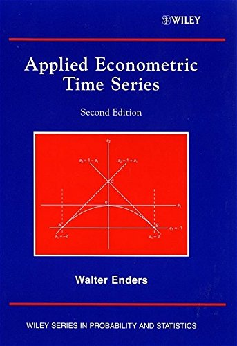 9780471230656: Applied Econometric Time Series (Wiley Series in Probability and Statistics)