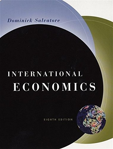9780471230700: International Economics