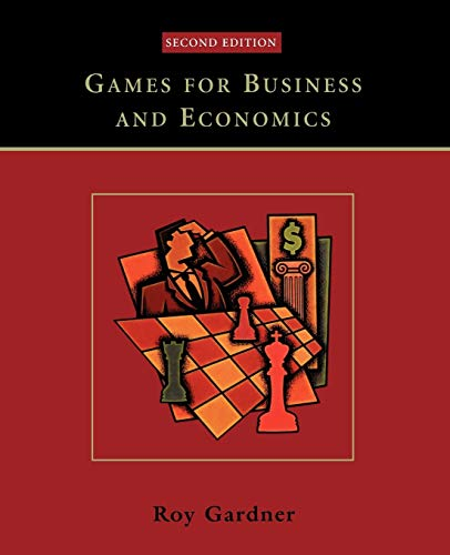 9780471230717: Games for Business and Economics