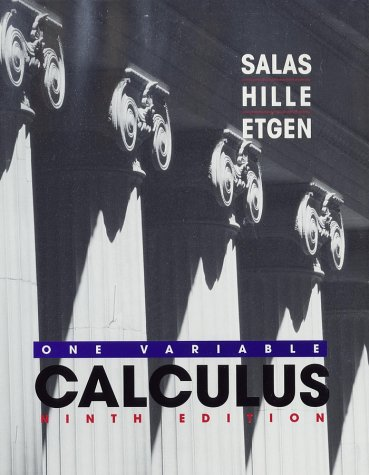 9780471231196: Calculus: One Variable