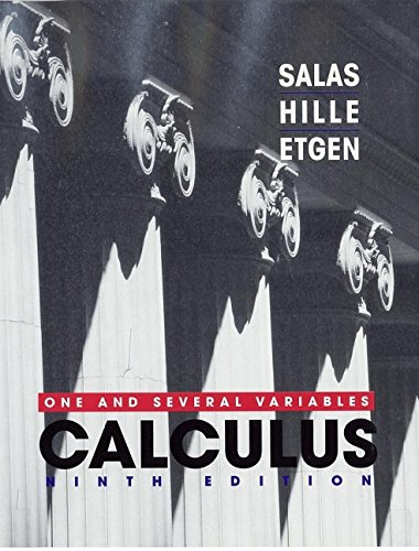 9780471231202: Calculus: One and Several Variables