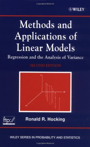 9780471232223: Methods and Applications of Linear Models: Regression and the Analysis of Variance
