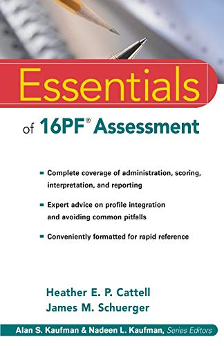 9780471234241: Essentials of 16PF Assessment