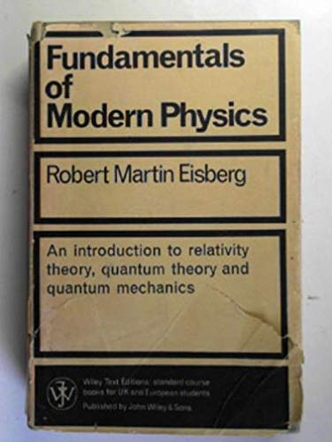 9780471234630: Fundamentals of Modern Physics