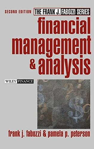 9780471234845: Financial Management and Analysis (Frank J. Fabozzi Series)