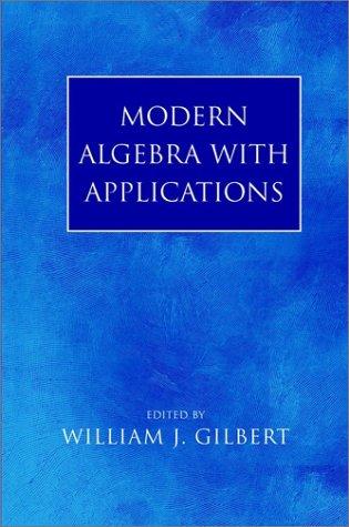 9780471235439: Modern Algebra with Applications