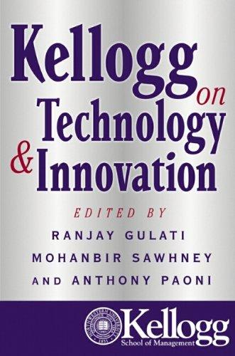 9780471235927: Kellogg on Technology and Innovation