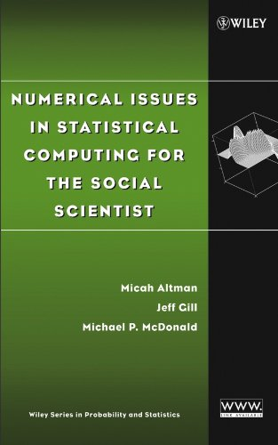 9780471236337: Numerical Issues in Statistical Computing for the Social Scientist (Wiley Series in Probability and Statistics)