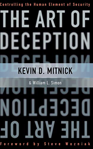 9780471237129: The Art of Deception: Controlling the Human Element of Security