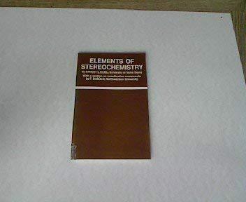 9780471237457: Elements of Stereochemistry