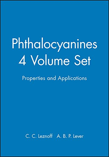 Phthalocyanines: Properties and Applications v. 1-4 (Hardback): C. C. Leznoff, A. B. P. Lever