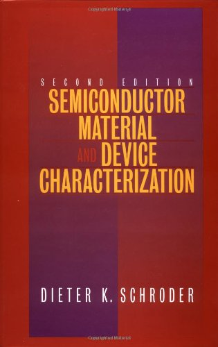 9780471241393: Semiconductor Material and Device Characterization