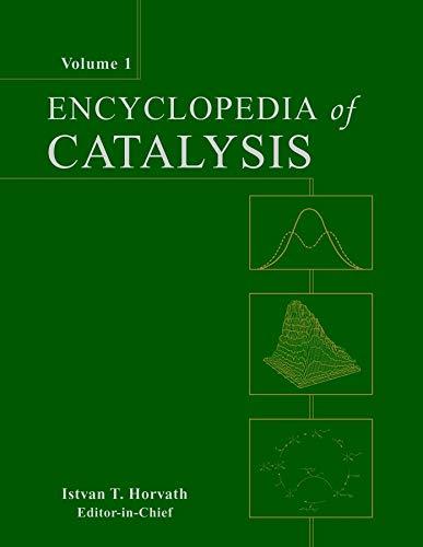 Encyclopedia Of Catalysis 6 Volume Set