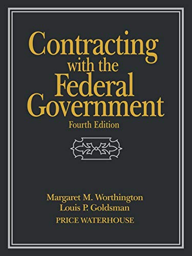 9780471242185: Contracting with the Federal Government