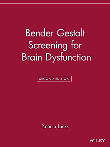 9780471242574: Bender Gestalt Screening for Brain Dysfunction