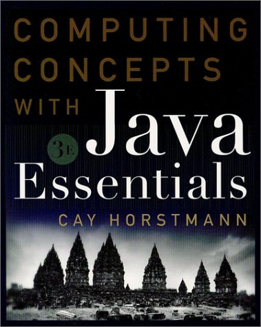9780471243717: Computing Concepts with Java Essentials