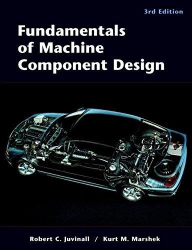 9780471244486: Fundamentals of Machine Component Design