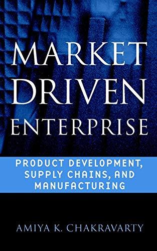 Market Driven Enterprise : Product Development, Supply: Amiya K. Chakravarty