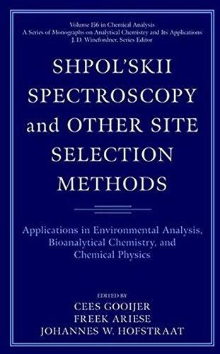 Shpolskii Spectroscopy And Other Site Selection Methods
