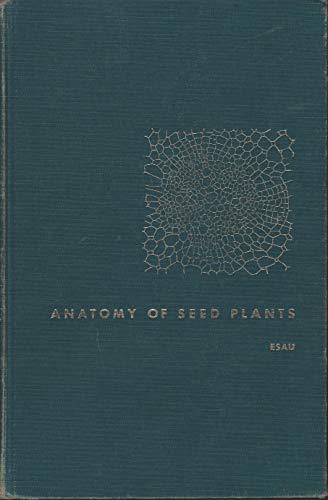 Plant Anatomy By Esau Abebooks