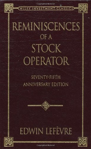 9780471246060: Reminiscences of a Stock Operator (Wiley Investment Classics)