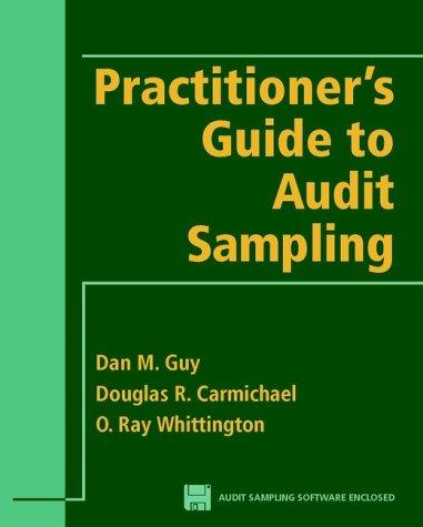 9780471246350: Practitioner's Guide to Audit Sampling