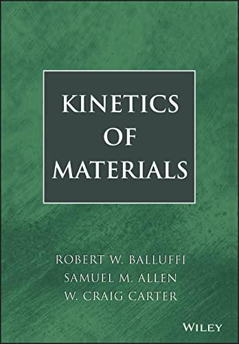 9780471246893: Kinetics Of Materials