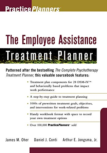9780471247098: The Employee Assistance Treatment Planner