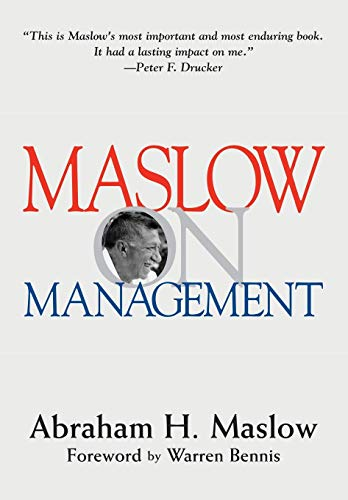 9780471247807: Maslow on Management