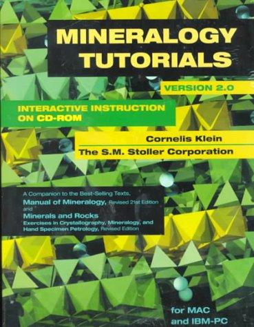 9780471248064: Mineralogy Tutorials: Interactive Instruction on CD-ROM Version 2.0