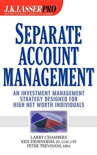 9780471249764: Separate Account Management