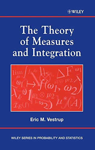 9780471249771: Theory of Measures (Wiley Series in Probability and Statistics)