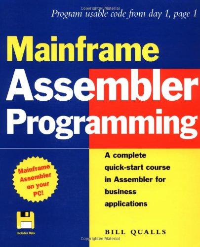 9780471249931: Mainframe Assembler Programming