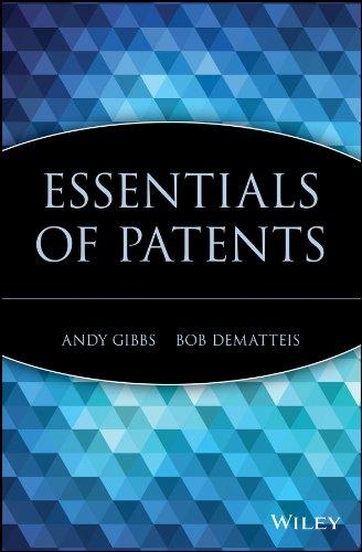 9780471250500: Essentials of Patents
