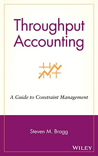 9780471251095: Throughput Accounting: A Guide to Constraint Management