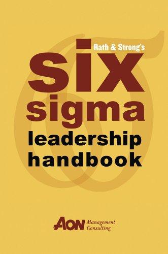 9780471251248: Rath & Strong's Six Sigma Leadership Handbook