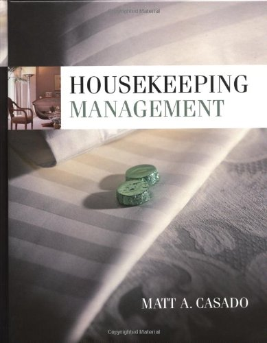 9780471251897: Housekeeping Management