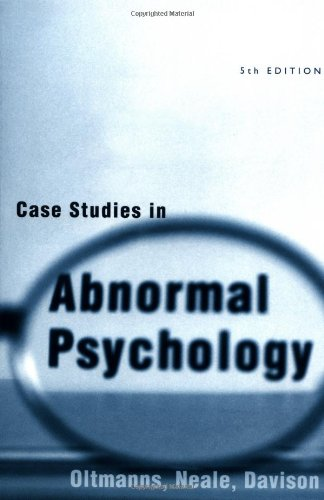 Oltmanns          Case Studies in Abnormal Psychology    Obsessive   Compulsive Disorder   Anxiety Disorder Goodreads