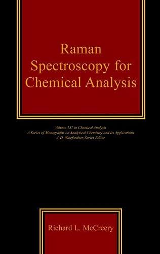 9780471252870: Raman Spectroscopy for Chemical Analysis
