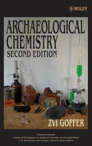 Archaeological Chemistry: Goffer, Zvi