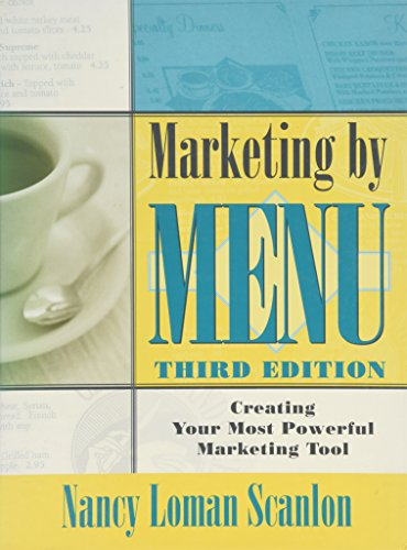 9780471253303: Marketing by Menu