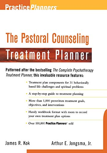 9780471254164: The Pastoral Counseling Treatment Planner