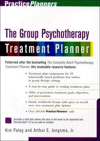 9780471254683: The Group Therapy Treatment Planner