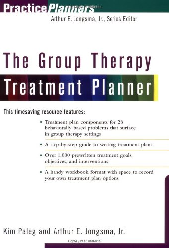 9780471254690: The Group Therapy Treatment Planner