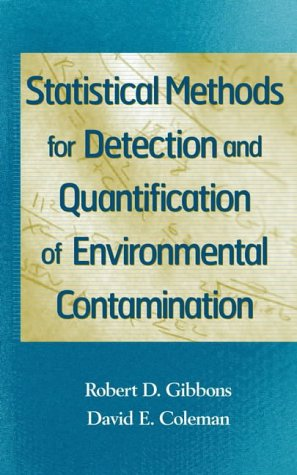 9780471255321: Statistical Methods for Detection and Quantification of Environmental Contamination