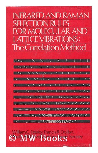 9780471256205: Infrared and Raman Selection Rules for Molecular and Lattice Vibrations